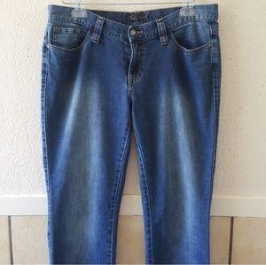 Prana skinny  organic cotton jeans size 8 EUC